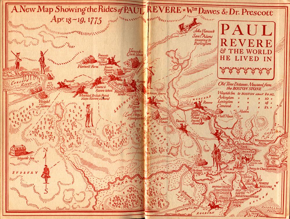 Paul Revere Boston Tour